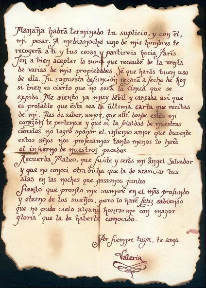 Manuscrito de Valeria