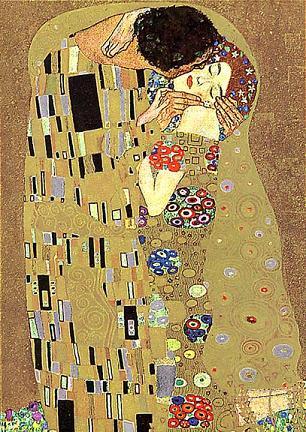 Kiss; Klimt